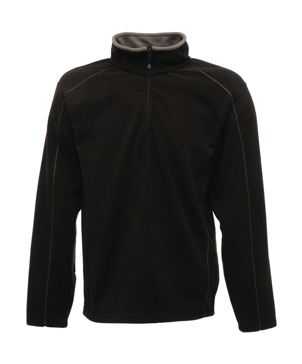 Ashville Half Zip Fleece Black/Smokey Noir