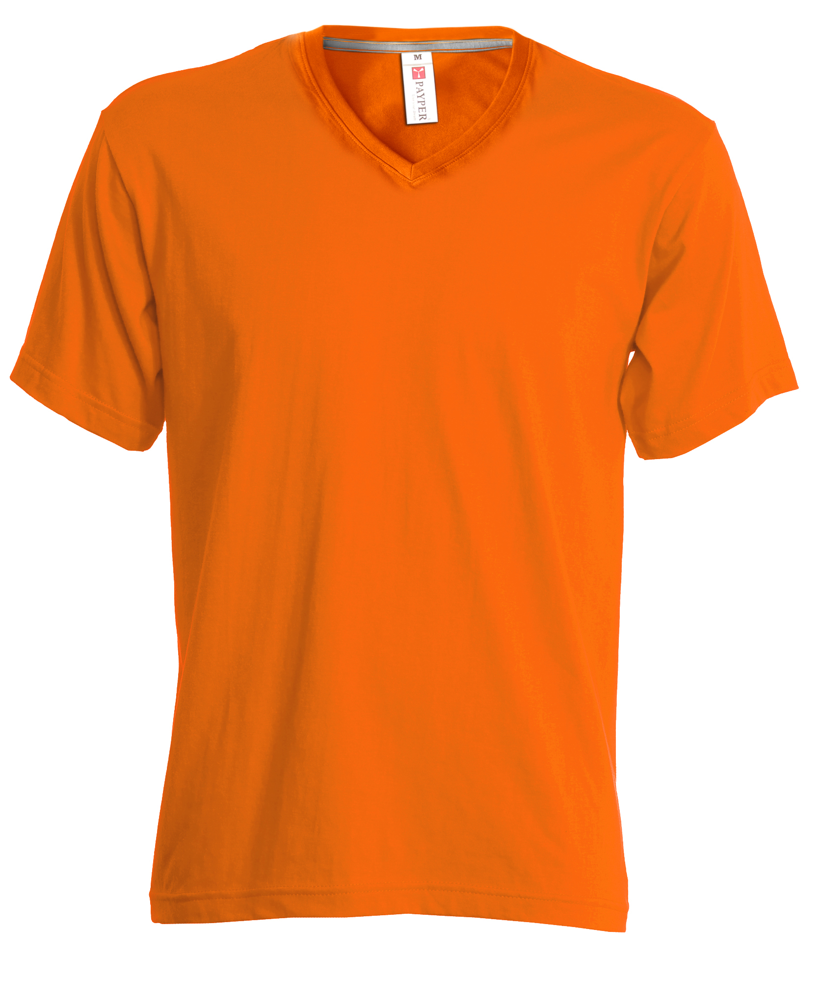 Tshirt Deluxe V NECK ORANGE