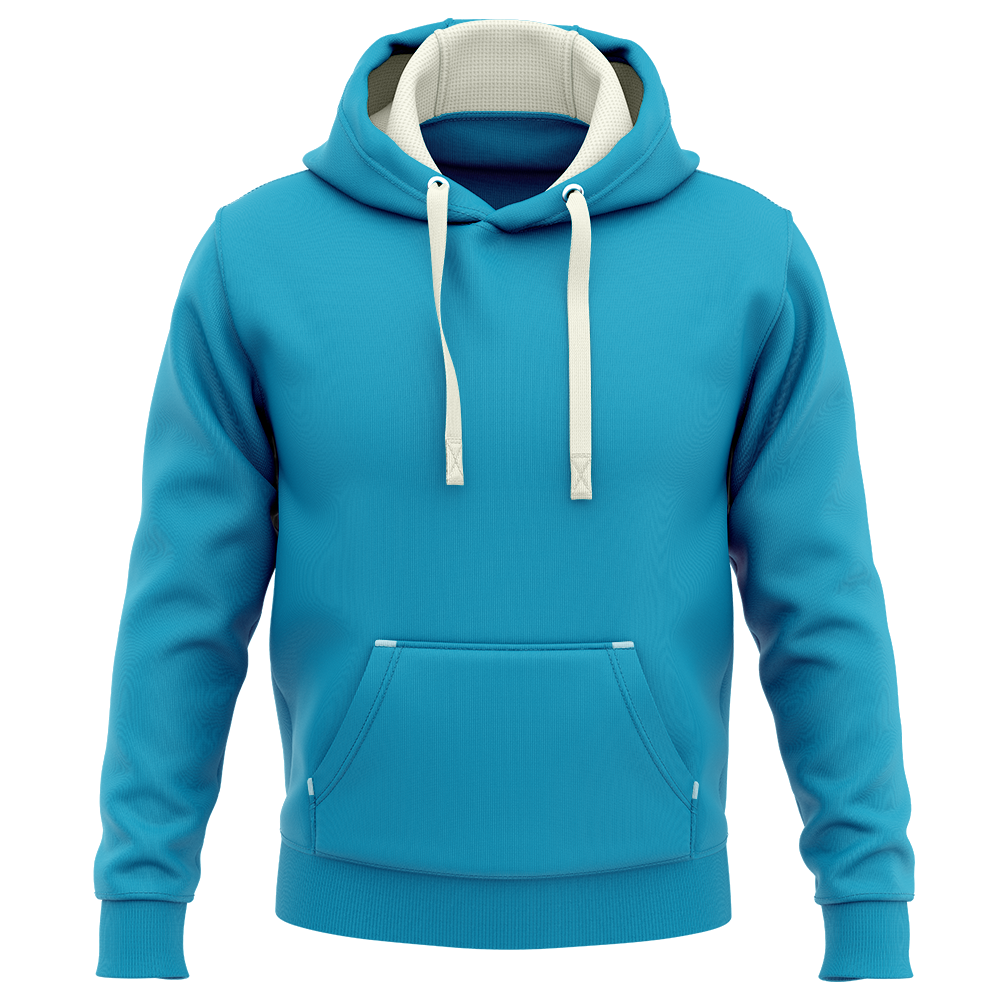Hoodie Deluxe Bleu_turquoise