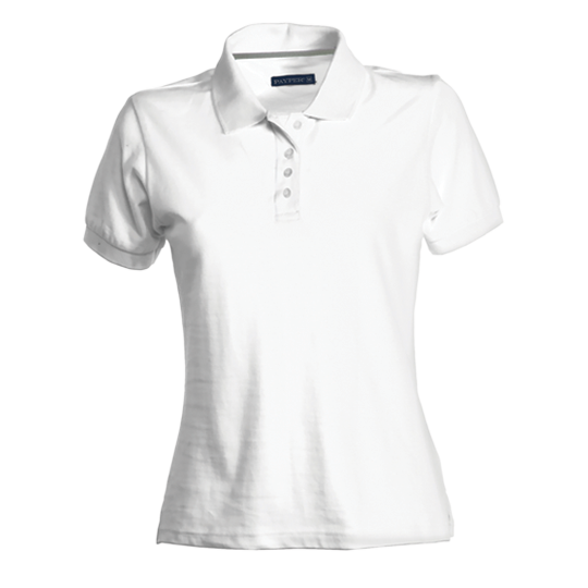 Polo Deluxe Femme Blanc Blanc