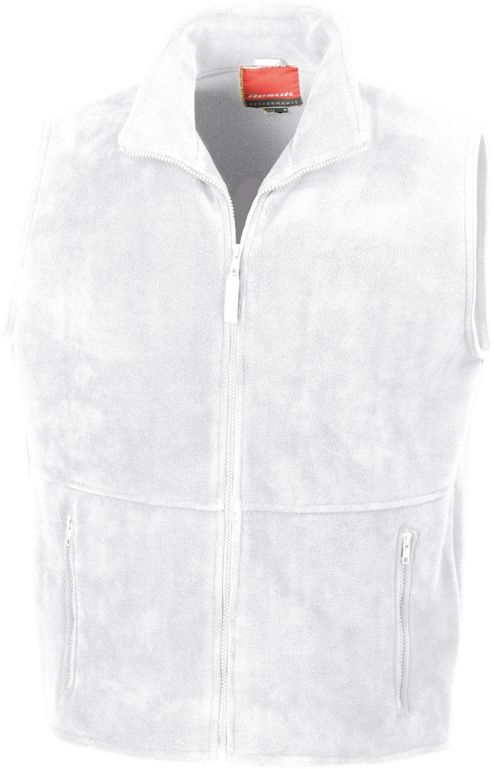 ACTIVE FLEECE BODYWARMER _Gilet polaire White Blanc