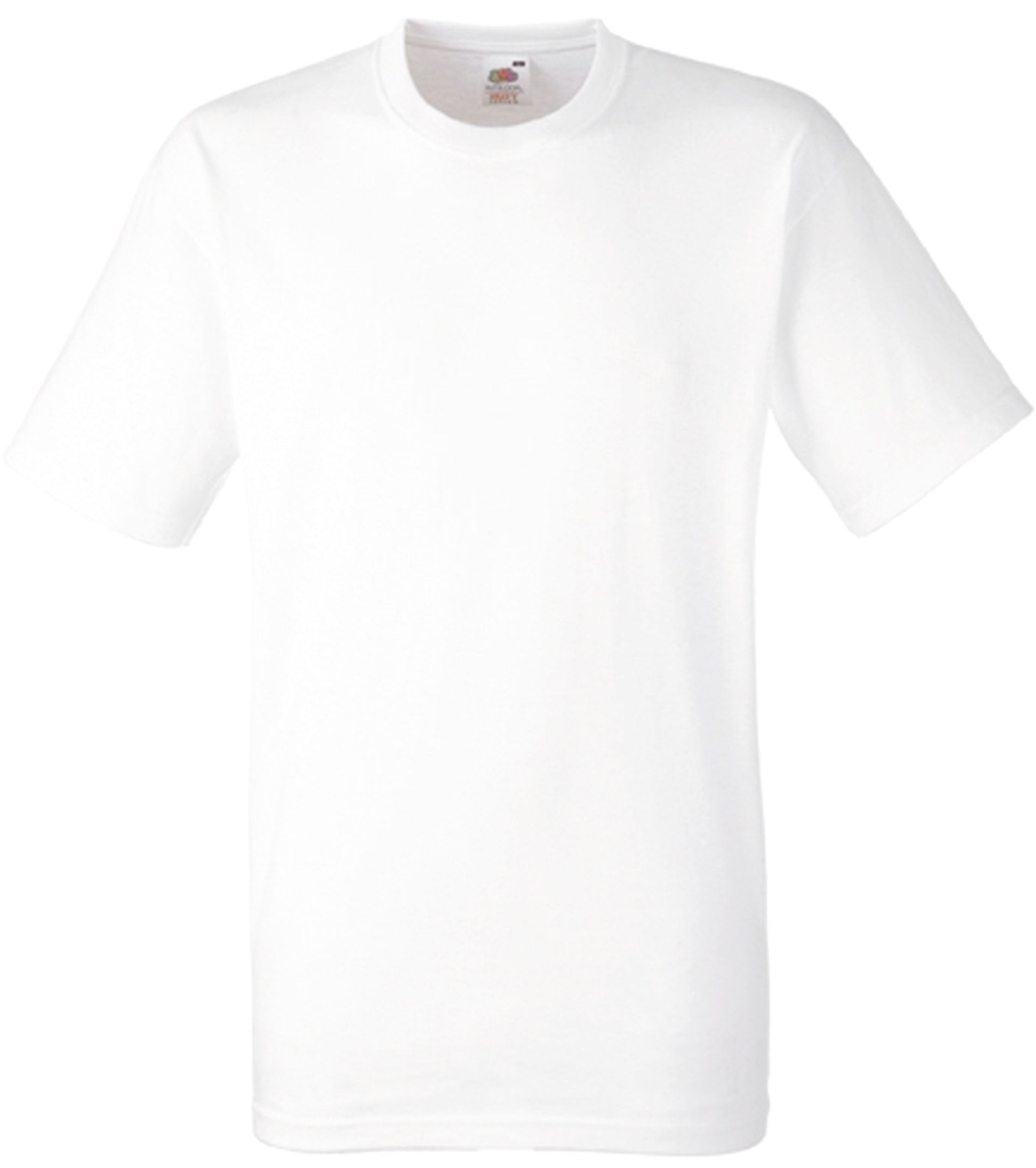 T-SHIRT LOURD HEAVY-T (61-212-0) White Blanc